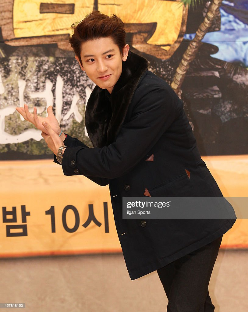 Chan-Yeol of Exo attends the SBS 'Law of the Jungle In Micronesia