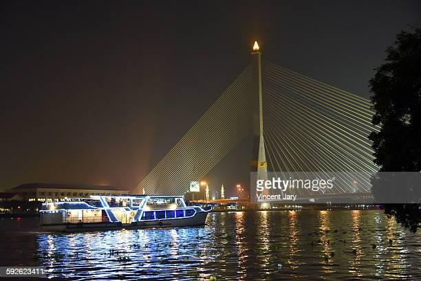 Chao Phraya Rama III bridge at Bangkok