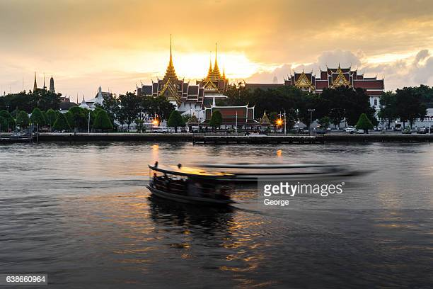 Chao Phraya River with Sunrise