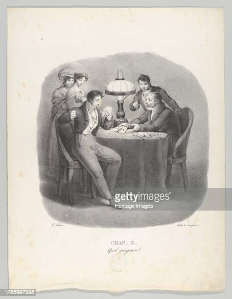 Quel guignon! , 1824. Artist Victor Adam.
