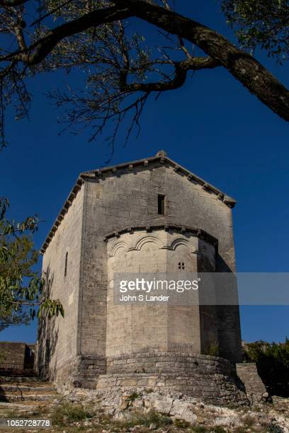Chapel at Fort Saint Andre VilleneuvelesAvignon remarkable for its state of preservation It sits imposingly at the top of Mount Andaon above the...
