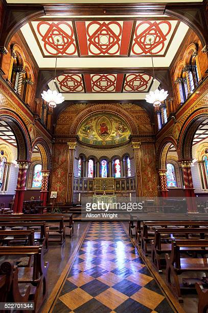 chapel at kings college london - king's college london stock pictures, royalty-free photos & images