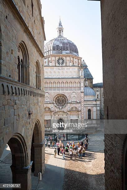Chapelle Colleoni et les touristes