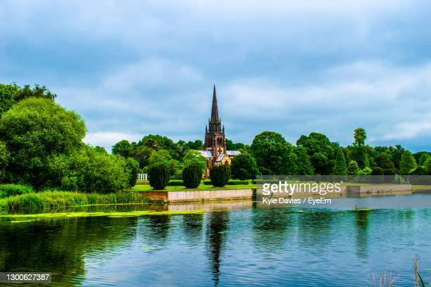 chapel in beautiful countryside - nottingham stock pictures, royalty-free photos & images