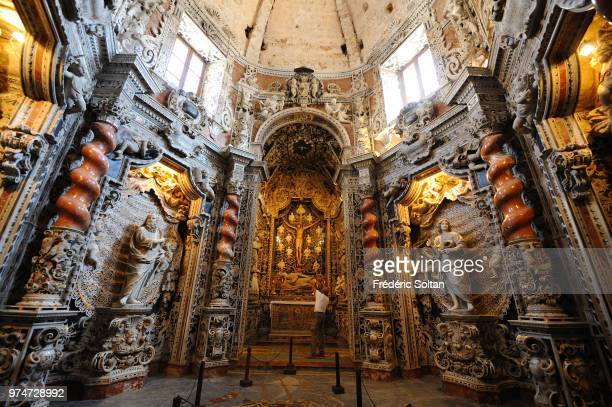 Chapel in Cathedral of Monreale in Palermo on June 10 Italy The cathedral of Monreale is one of the greatest extant examples of Norman architecture...
