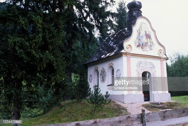 Chapel in the neighborhood of Gunter Sachs Haus in Switzerland 2000s