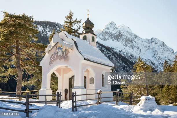 Chapel Maria Königin in Winter