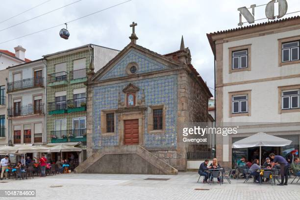 chapel of our lady of mercy in vila nova de gaia - gwengoat stock pictures, royalty-free photos & images