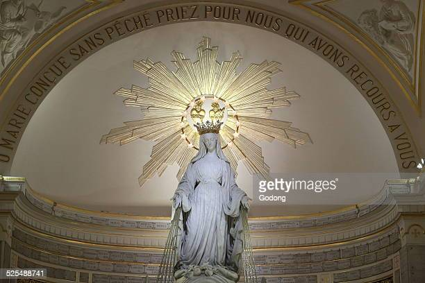 Chapel of Our Lady of the Miraculous Medal The Blessed Virgin