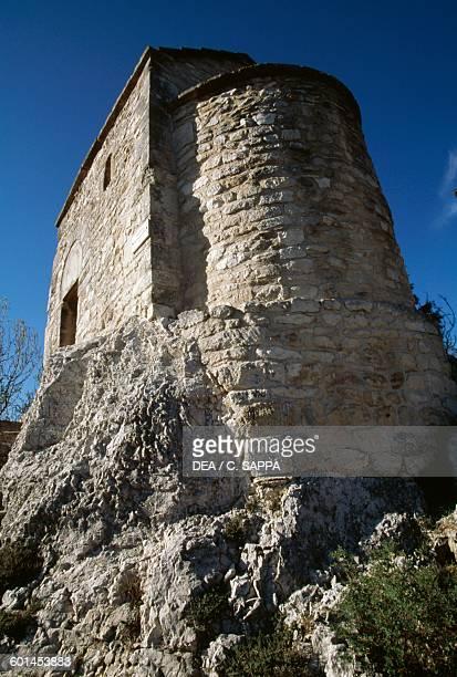 Chapel of St Mary of Belvezet St Andre monastery and fort VilleneuvelesAvignon LanguedocRoussillon France 14th century