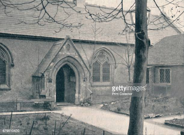 Chapel of St. Mary's Hospital, Great Ilford, Essex', 1903. St Mary's Church, Great Ilford is a Church of England parish church in Ilford in the...