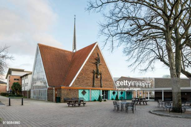 Chapel of the Ascension Bishop Otter Campus University of Chichester Chichester West Sussex 2015 General view of the chapel from the northwest...