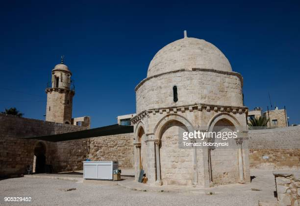 Chapel of the Ascension on the Mount of Olives