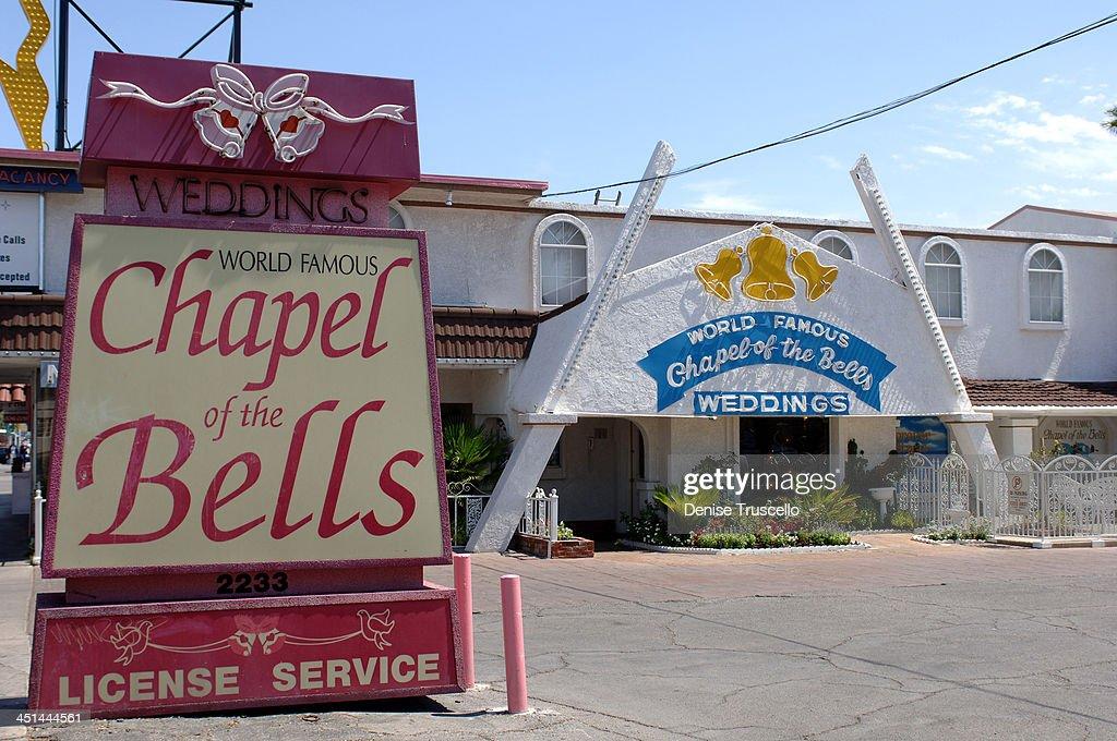 Chapel Of The Bells Wedding During Las Vegas Chapels At Boulevard In