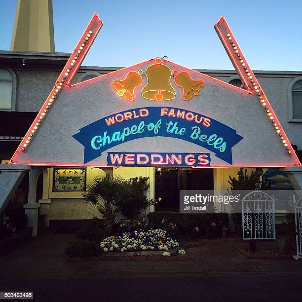 The Wedding Chapel Of Las Vegas: Wedding Bells Stock Photos And Pictures