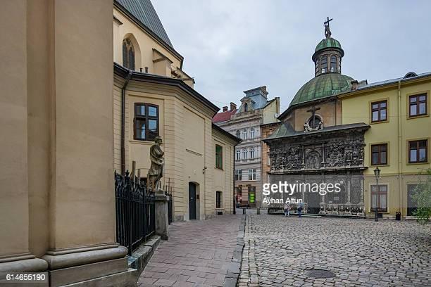 Chapel of the Boim Family at Katedralna Square in Lviv,Ukraine