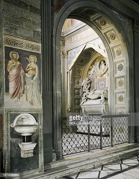 Chapel of the Cardinal of Portugal, San Miniato al Monte , Florence. Italy, 10th-15th century.