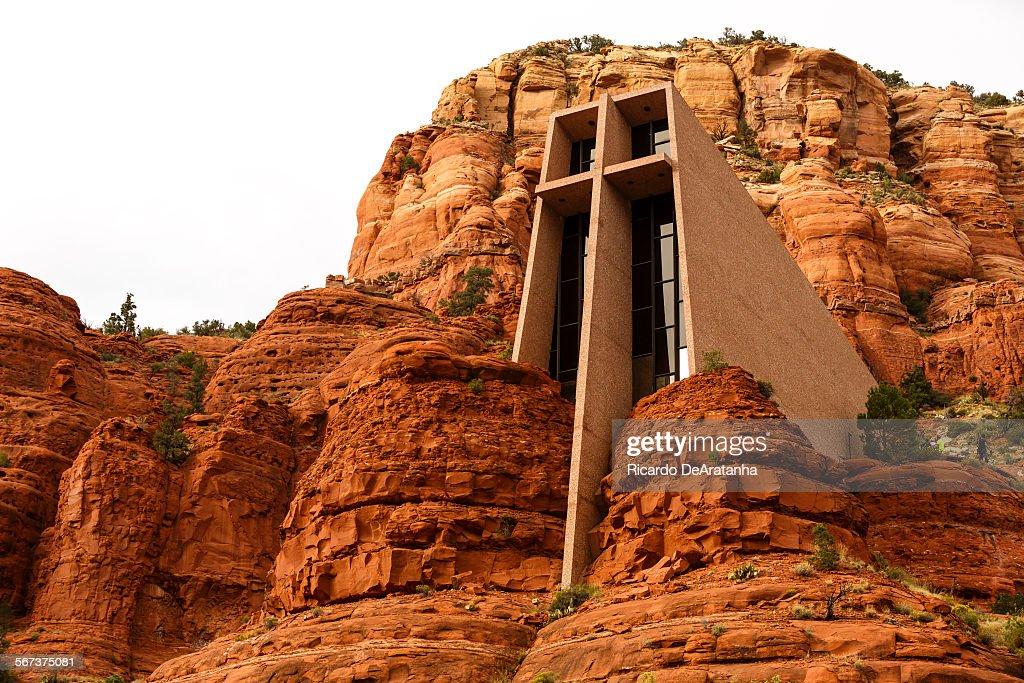 SEDONA, AZ   OCTOBER 07, 2014   Chapel Of The Holy Cross Built In