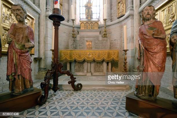 Chapel of the Holy Spirit Crypt Basilica of Saint Sernin Toulouse