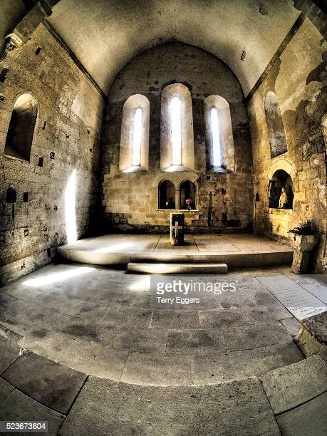 Chapel of the small abbaye of Saint Hilaire