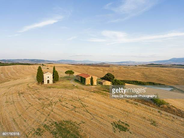 chapel of vitaleta - capella di vitaleta stock pictures, royalty-free photos & images
