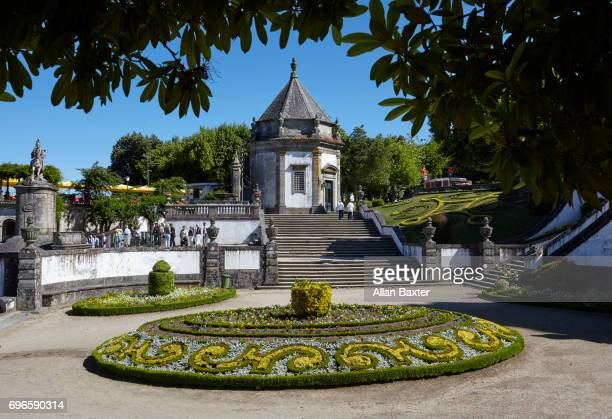 Chapel on Stairs to the Bom Jesus do Monte in Braga
