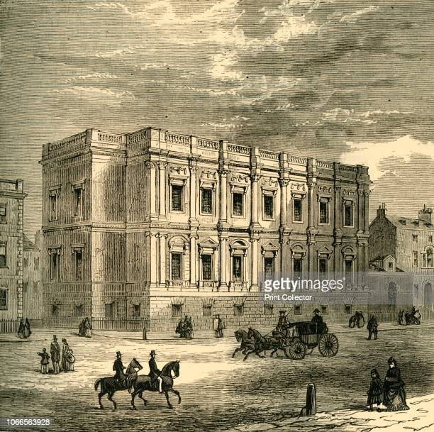 Chapel Royal, Whitehall, Exterior', . The Banqueting House, designed by Inigo Jones and completed in 1622, was significant in English architecture as...