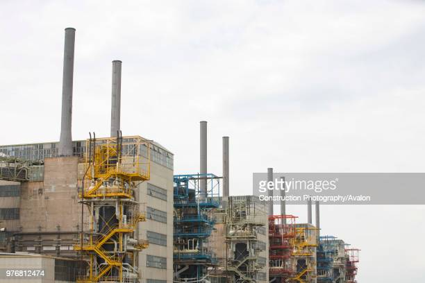 Chapelcross nuclear power station near Annan Scotland UK being dismantled The nuclear legacy clean up is costing the UK many Billions