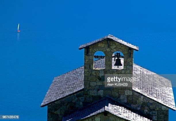 Chapelle du Barrage de Roselend Beaufortin Savoie France