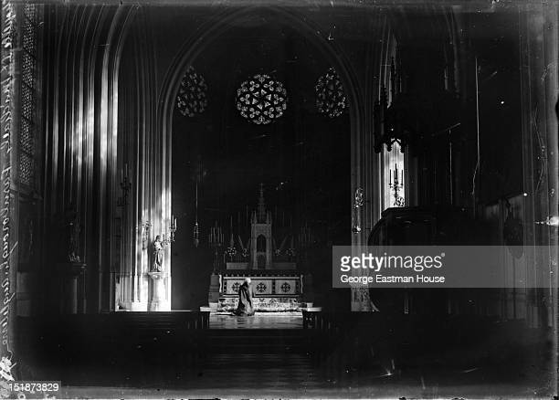Chapelle St Michaels Farnborough Angleterre, between 1900 and 1919.
