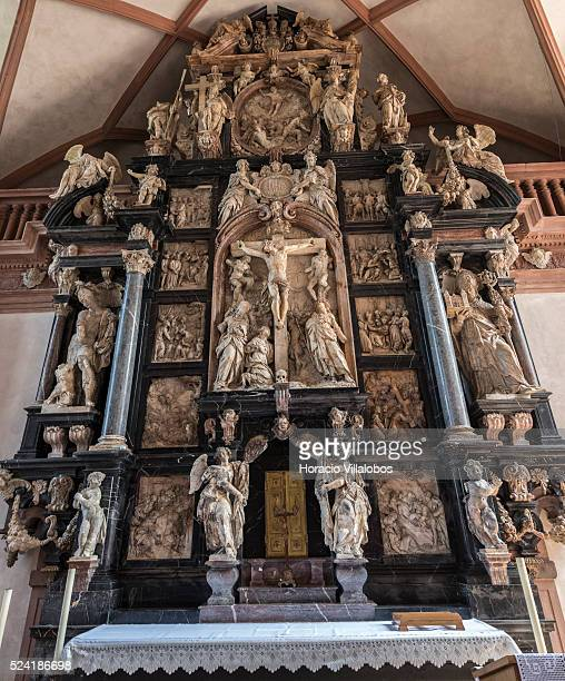 Chapel's altar at Schloss Johannisburg in Aschaffenburg Germany 14 May 2015 one of the most important buildings of the Renaissance period in Germany...