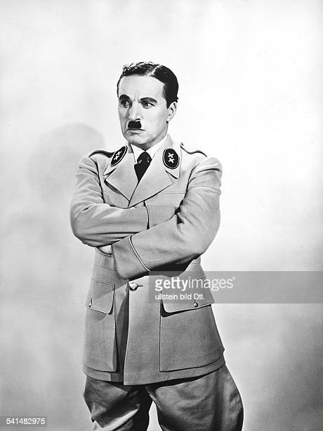 Chaplin Charlie Actor film director Great Britain *16041889 Scene from the movie 'The Great Dictator' as Adenoid Hynkel Directed by Charles Chaplin...