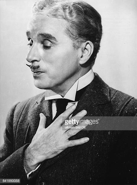 Chaplin Charlie Actor film director Great Britain *16041889 Scene from the movie 'Monsieur Verdoux' Directed by Charles Chaplin USA 1947 Produced by...