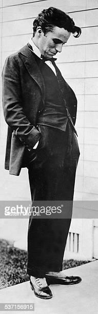 Chaplin Charlie Actor film director Great Britain 1921 Vintage property of ullstein bild