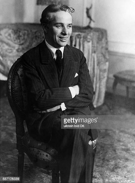Chaplin Charlie Actor film director Great Britain 1927 Vintage property of ullstein bild