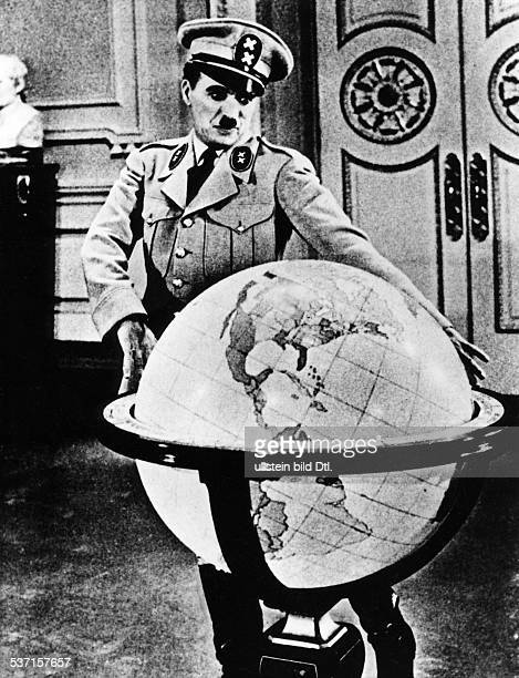 Chaplin Charlie Actor film director Great Britain Scene from the movie 'The Great Dictator' Directed by Charles Chaplin USA 1940 Produced by united...