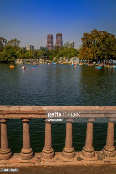 Chapultepec Lake in Mexico City