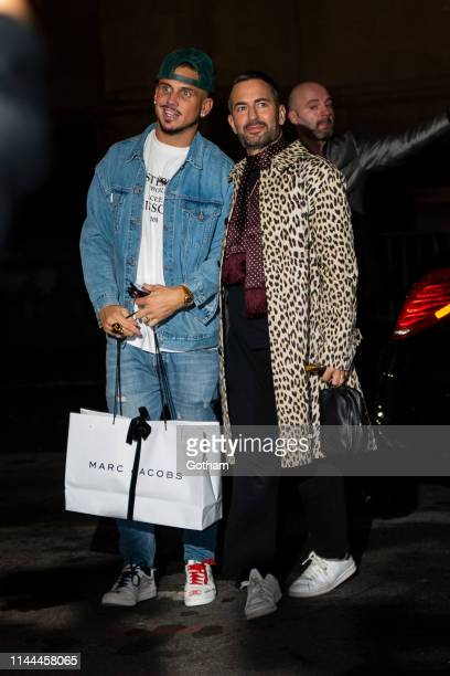 Char DeFrancesco and Marc Jacobs attend Gigi Hadid's 24th Birthday at L'Avenue in Midtown on April 22 2019 in New York City