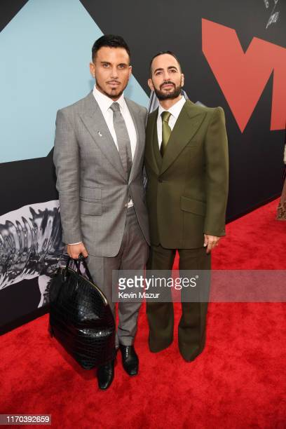 Char Defrancesco and Marc Jacobs attend the 2019 MTV Video Music Awards at Prudential Center on August 26 2019 in Newark New Jersey