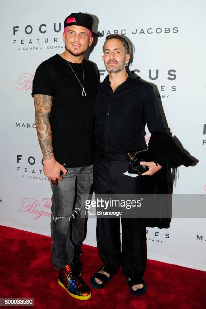 Char Defrancesco and Marc Jacobs attend The Beguiled New York Premiere Arrivals at Metrograph on June 22 2017 in New York City