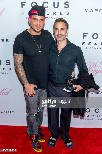 """Char Defrancesco and Marc Jacobs attend """"The Beguiled"""" New York premiere at The Metrograph on June 22, 2017 in New York City."""