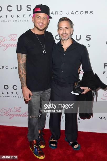 Char Defrancesco and Marc Jacobs attends The Beguiled New York Premiere at The Metrograph on June 22 2017 in New York City