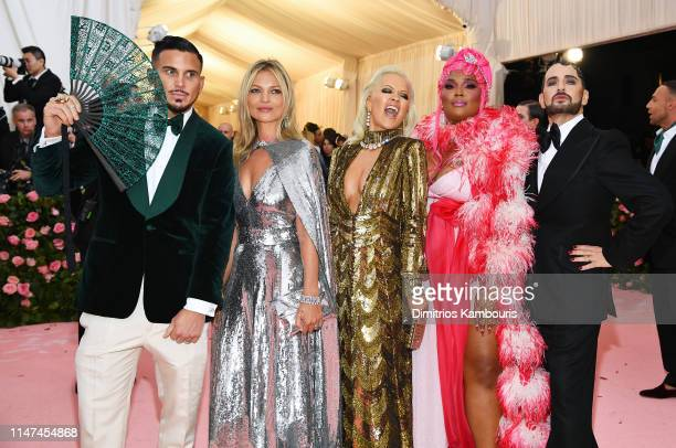 Char Defrancesco, Kate Moss, Rita Ora, Lizzo and Marc Jacobs attend The 2019 Met Gala Celebrating Camp: Notes on Fashion at Metropolitan Museum of...