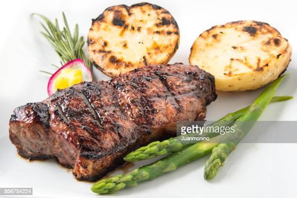 Char Grilled New York Steak