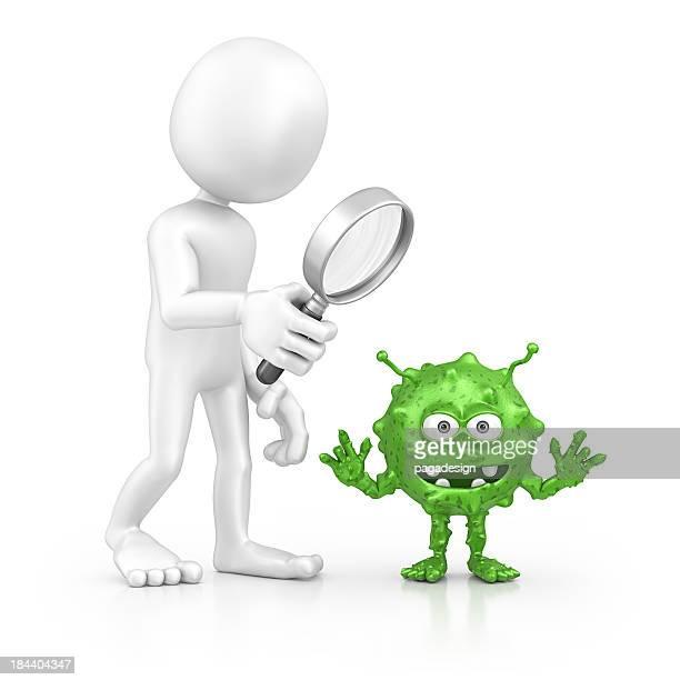 Recherche de caractère Bactérie