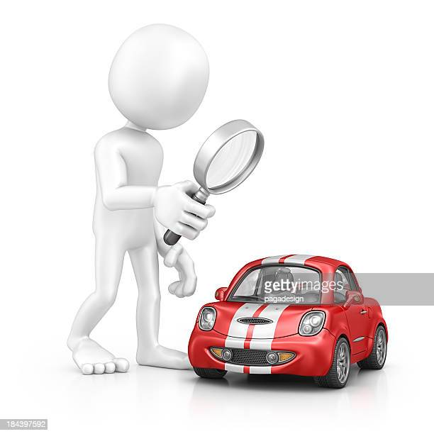 character searching car