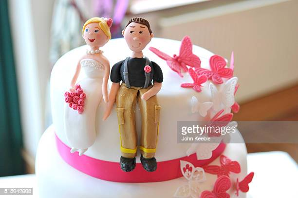 Character Themed Wedding Cake