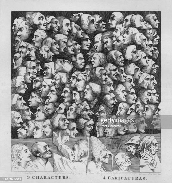 Characters and Caricaturas' Hogarth's response to the criticism that his characters were caricatures above are characters with exaggerated features...