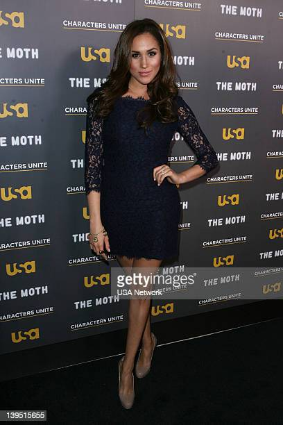 """Characters Unite/Moth Storytelling Event in LA on Wednesday, February 15, 2012"""" -- Pictured: Meghan Markle --"""