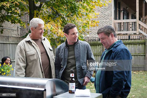 SIRENS Charbroiled Episode 209 Pictured Lenny Clarke as Johnny's Dad Michael Mosley as Johnny Farrell John Scurti as Captain Jerry Kelly